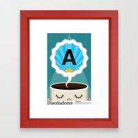 Dreamigners | Typography Framed Art Print
