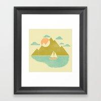Lost Lake Framed Art Print