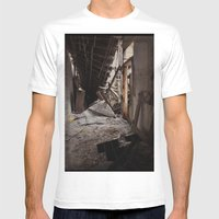 Plymouth County Hospital… Mens Fitted Tee White SMALL