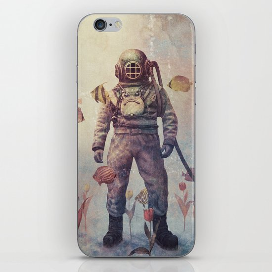 Deep Sea Garden  iPhone & iPod Skin