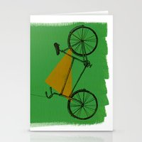 confidant II. (bicycle) Stationery Cards