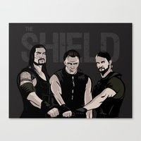 WWE - The Shield Canvas Print