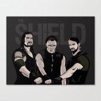 WWE - The Shield Canvas Print