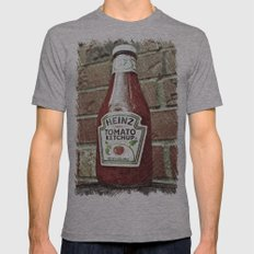 Classic 57 Mens Fitted Tee Athletic Grey SMALL