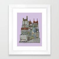 London Rising Framed Art Print