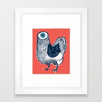 Your Meat Knows…  Framed Art Print