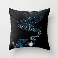 Aurora's Lights Throw Pillow