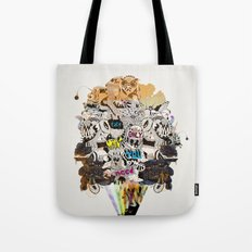 Drawing Collage #03 Tote Bag