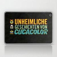 UNHEIMLICHE GESCHICHTEN VON CUCACOLOR Laptop & iPad Skin
