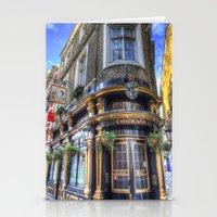 The Cockpit Pub London Stationery Cards