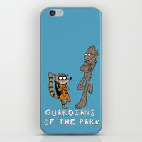 Guardians Of The Park iPhone & iPod Skin