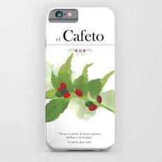 el Cafeto (coffee plant) iPhone 6s Slim Case