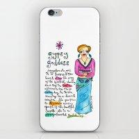 Gypsy Goddess iPhone & iPod Skin
