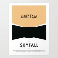 James Bond Skyfall - Min… Art Print