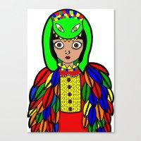 Quetzacoatl Canvas Print