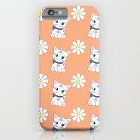 Floral Bella repeat iPhone 6 Slim Case