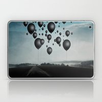 In Limbo - black balloons Laptop & iPad Skin