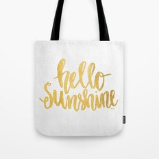 Hello Sunshine by Misty Diller Tote Bag