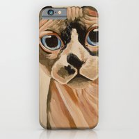 Hairless Sphynx Cat iPhone 6 Slim Case
