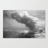 Explosion in the Sky Canvas Print