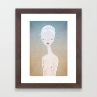 nude2 Framed Art Print