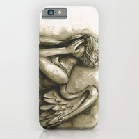 iPhone & iPod Case featuring Weeping Angel by Olechka