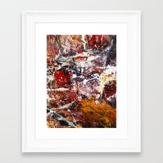 Round About Framed Art Print