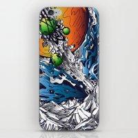 Solar Flare iPhone & iPod Skin