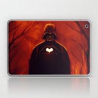 Heart Vader Laptop & iPad Skin