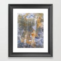 Onix Mineral Framed Art Print