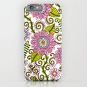 Wildflower Pattern iPhone & iPod Case