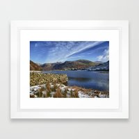 Brother's Water Framed Art Print