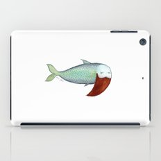 fish with beard iPad Case