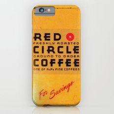 Red Circle Coffee iPhone 6 Slim Case