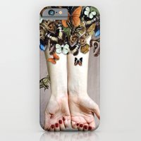 iPhone & iPod Case featuring The Butterfly Project (2) by KatePowellArt