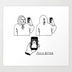 much better Art Print