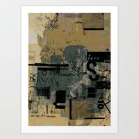 misprint 58 Art Print