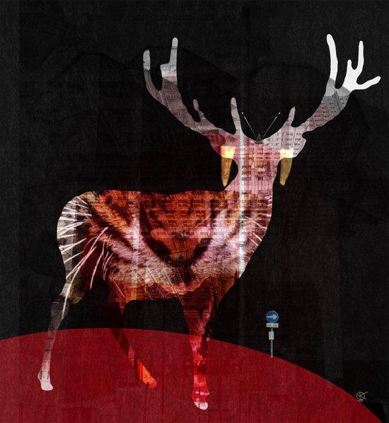 RedCatDeer Art Print