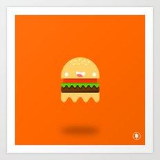 Ham-Boo-ger Art Print
