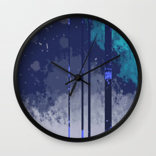 Winterspace Wall Clock
