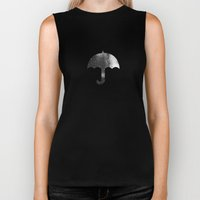 Rain, Rain, Don't Go Away Biker Tank