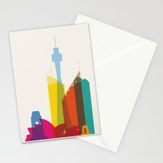 Shapes of Sydney. Accurate to scale Stationery Cards