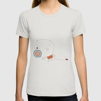 My pet Womens Fitted Tee Silver SMALL