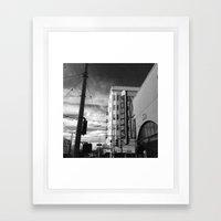 Inner Liquors Black & Wh… Framed Art Print