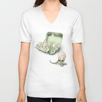 In which dinosaur eggs are hardly fit for human consumption  Unisex V-Neck