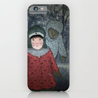 iPhone & iPod Case featuring Посмотри! Йети - Beware of the Yeti!  by Rizky Warnerin's Illustrations