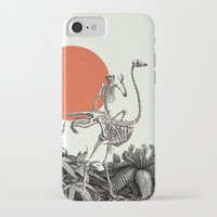 death iPhone & iPod Cases featuring Death by Dorian Danielsen