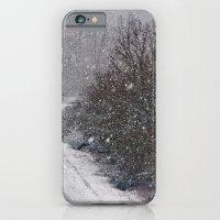 Snow Is Falling iPhone 6 Slim Case