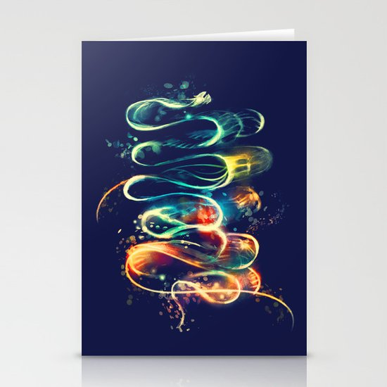 Leptocephalus Stationery Card