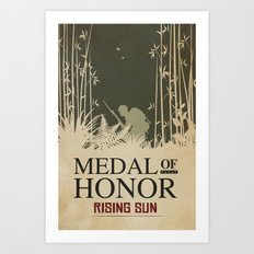 Medal of Honour - Rising Sun Art Print